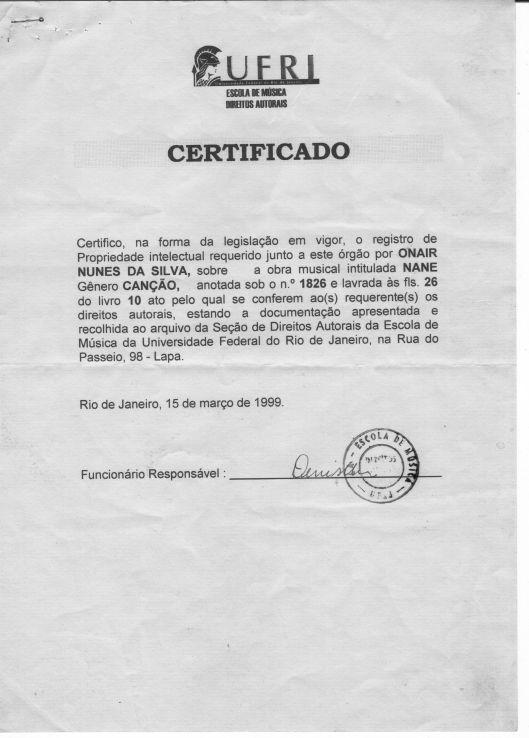 certificado nane